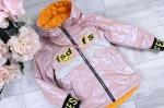 Детские двухсторонние демисезонные куртки 128-152 2141-1-3
