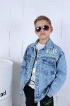 Детские джинсовые курткии р.150-180  8005-1