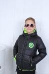 Детские двухсторонние демисезонные куртки р.122-152 45480-1-1