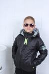 Детские двухсторонние демисезонные куртки р.134-164 45502-2