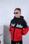 Детские двухсторонние демисезонные куртки р.120-150  9820-2