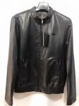 Мужская куртка кожзам K-113-3