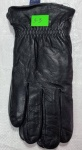 Мужские перчатки кожа/махра 3-3