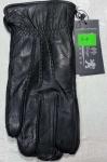 Мужские перчатки кожа/махра 3-4