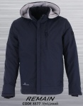 Мужские демисезонные куртки Батал REMAIN 8377-1