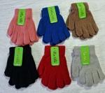 Детские одинарные перчатки3-5 лет A2046
