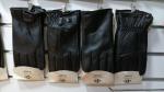 Мужские перчатки кожа/махра А62