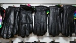 Мужские перчатки кожа/иск.мех А55