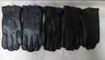 Мужские перчатки кожа/махра А101