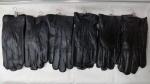 Мужские перчатки кожа/махра А53