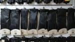 Женские перчатки кожа коза/вязка А220