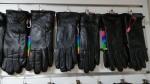 Женские перчатки кожа/махра А116