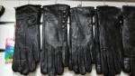 Женские перчатки кожа/махра А116-1