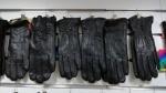 Женские перчатки кожа/плюш А69