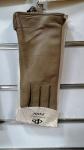 Женские перчатки кожа/махра А101