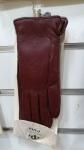 Женские перчатки кожа/махра А101-2