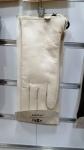 Женские перчатки кожа/махра А101-5