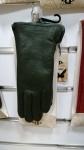 Женские перчатки кожа/махра А101-7
