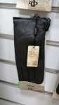 Женские перчатки кожа/махра А101-8