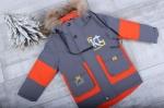 Зимняя детская куртка рр. 92-116 YY8318-4