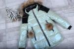 Зимняя детская куртка рр. 116-140 M379-4