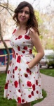 Модное женское платье разные цвета