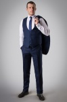 Мужской костюм тройка A666