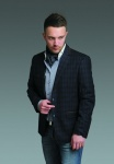 Стильный мужской пиджак A120