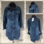 Женские джинсовые кардиганы 8911