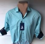 Мужские рубашки длинный рукав - батал Б1686-1