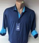 Мужские рубашки длинный рукав - батал Б1786-2