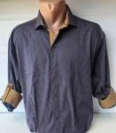 Мужские рубашки длинный рукав - батал Б3206-2