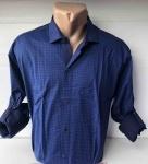 Мужские рубашки длинный рукав - батал Б3291-1