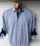 Мужские рубашки длинный рукав - батал Б3291-2
