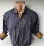Мужские рубашки длинный рукав - батал Б3291-3