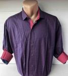 Мужские рубашки длинный рукав - батал Б3291-5
