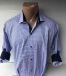 Мужские рубашки длинный рукав - батал Б3291-6