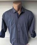 Мужские рубашки длинный рукав - батал Б3291-7