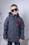 Детские демисезонные куртки р. 122-146 6-896-2