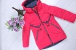 Детские демисезонные куртки р. 116-140 66-450-1