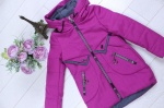 Детские демисезонные куртки р. 116-140 66-450-2