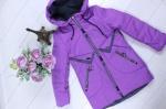 Детские демисезонные куртки р. 116-140 66-450-3