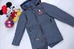 Детские демисезонные куртки р. 122-146 6-887-1