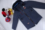Детские демисезонные куртки р. 32-40 6-887-2