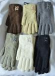 Женские перчатки - двойные