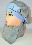 Женские шапки с шарфом ROYAL