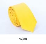 Детский однотонный галстук DW-08