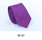 Детский однотонный галстук DW-07
