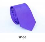 Детский однотонный галстук DW-06
