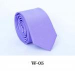 Детский однотонный галстук DW-05